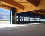Складные ворота DoorHan для ангаров