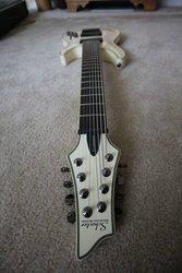 Продам электро-гитару SCHECTER BLACKJACK ATX C-8 AGED WHITE