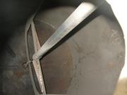 Аппарат с перемешивающим устройством,  реактор 1м3 н/ж