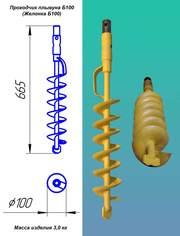 Желонка Б100 Чистка скважины