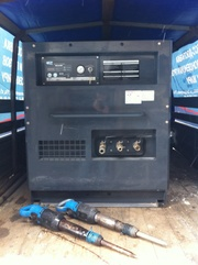 Аренда,  услуги компрессора 5м3/мин с пневмомолотками