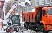 Механизированная уборка и вывоз снега. Новосибирск. Услуги минипогрузч