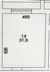Студия 31, 6 кв.м.,  с.Верех-Тула,  Радужный мкр 17/2