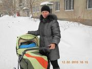 Продам коляску зима-лето, зеленого цвета
