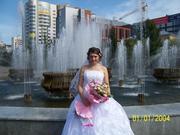Срочно продам свадебное платье одетое один раз